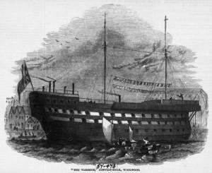 Figure 22 Prison-hulk, ca. 1846.