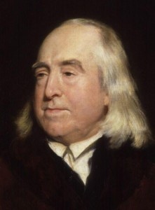 Figure 47 Jeremy Bentham, ca. 1829.