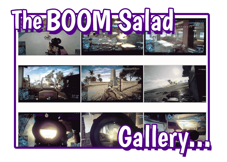 The BOOM Salad Gallery