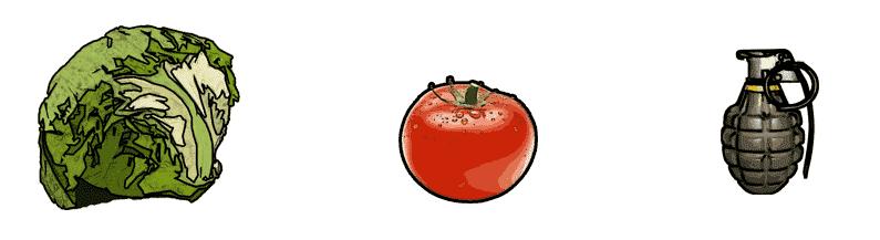 Lettuce Tomato Grenade