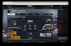 Battlelog Profile for FuzzeePickle