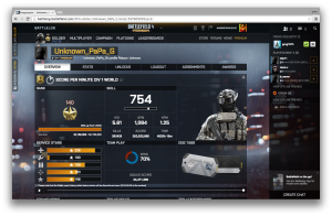 Battlelog profile for the Unknown_PaPa_G.