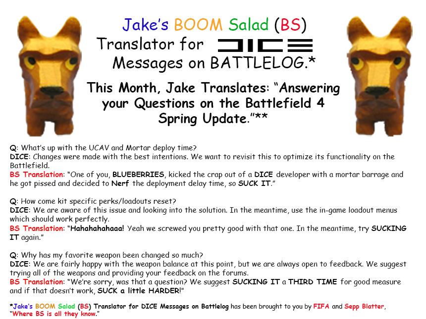 Jake's BS Translator