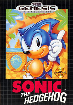 Figure 2: Sonic the Hedgehog.