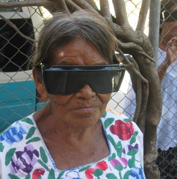 Figure 3: Grandmas UV shields.